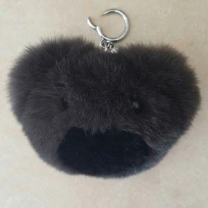 Michael Kors Teddy Bear Pom Key Chain